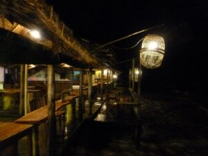 A bar in Kep