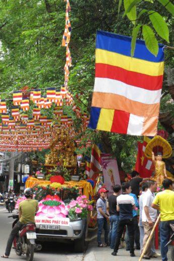 Buddhist festival in Hanoi