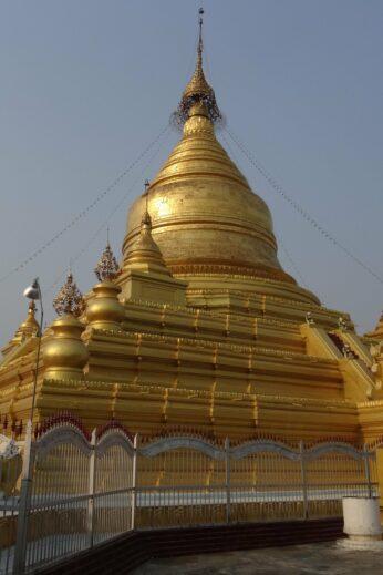 Golden Pagoda - InsideBurma Tours