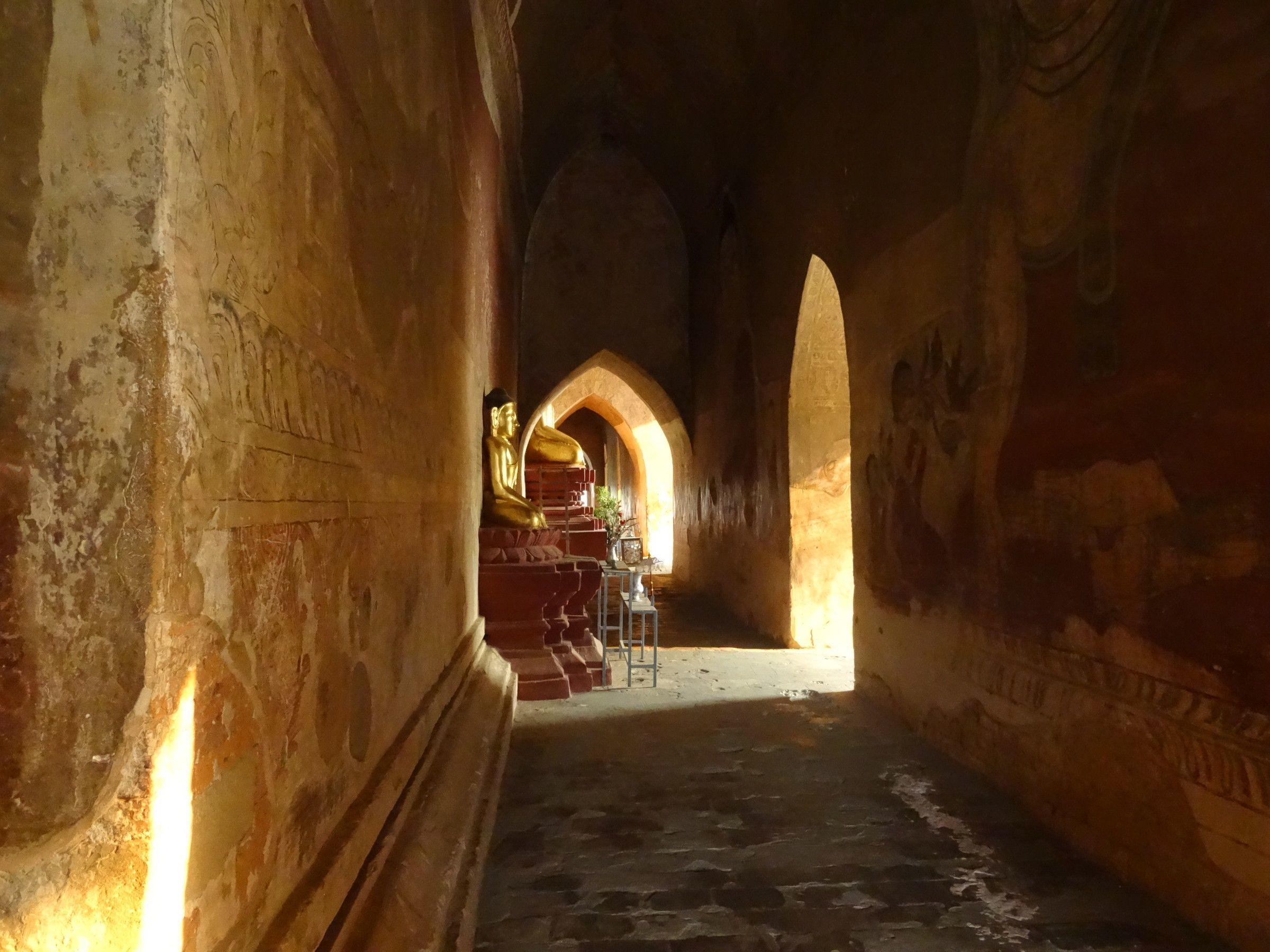 Temple Corridor - InsideBurma Tours