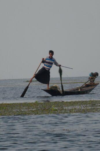 Burmese fisherman - InsideBurma Tours
