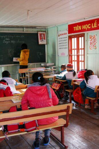 Visiting a floating Schoolroom in Vietnam