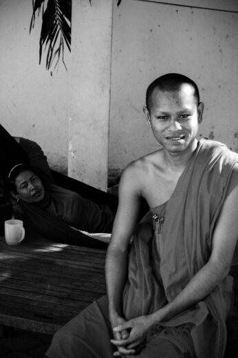 Friendly Monk in Cambodia