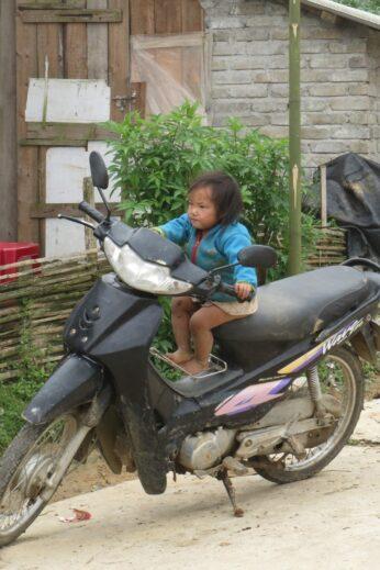 Hmong girl in Sapa