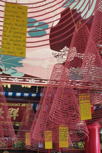 Incense spirals in Hoi An