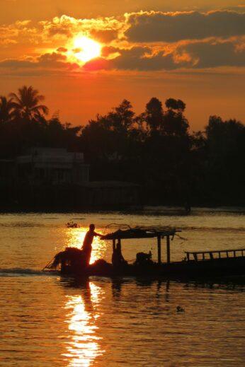 Mekong Delta at Sunrise, Magnificent Vietnam Tour