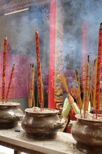 Incense in Saigon