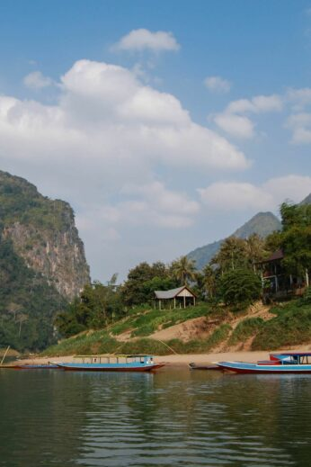 Boats in northern #Laos