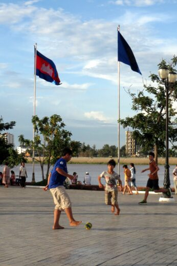Football in Phnom Penh, Cambodia