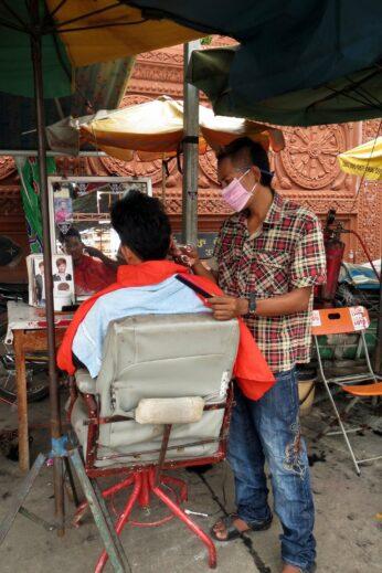 Hairdresser in Phnom Penh