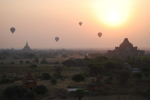 Bagan Ballooning - insidevietnam Tours