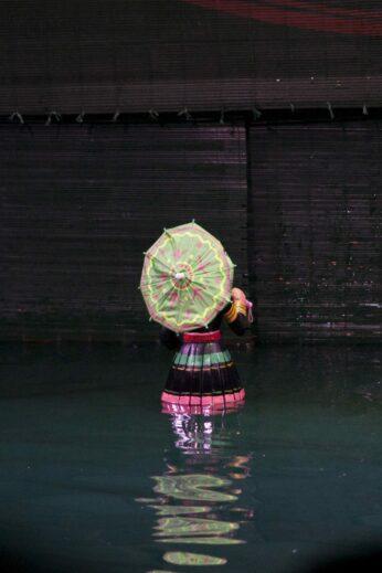 Hanoi puppet show