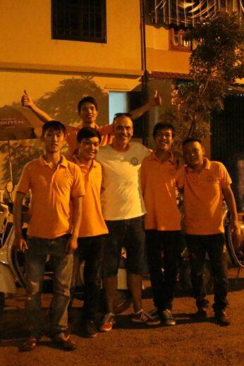 The Vespa Adventures team