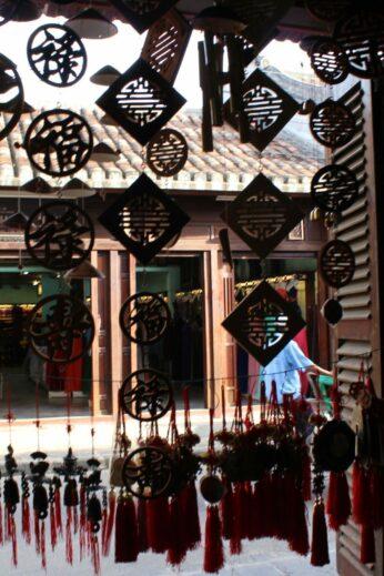Inside a Hoi An shop