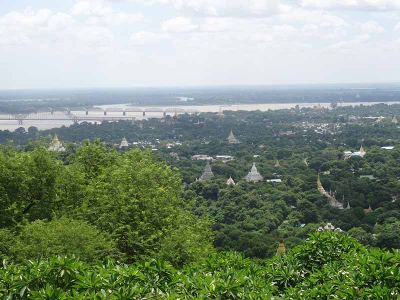 The view over Sagaing