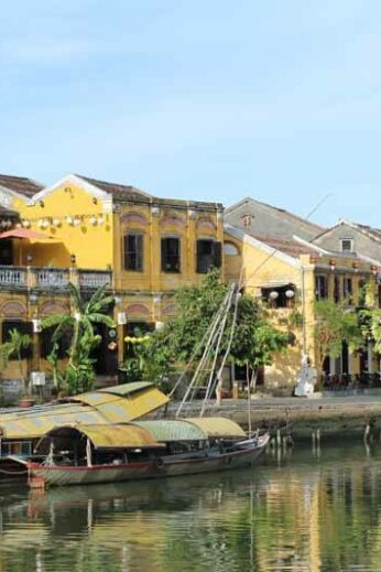 Hoi An's beautiful riverside