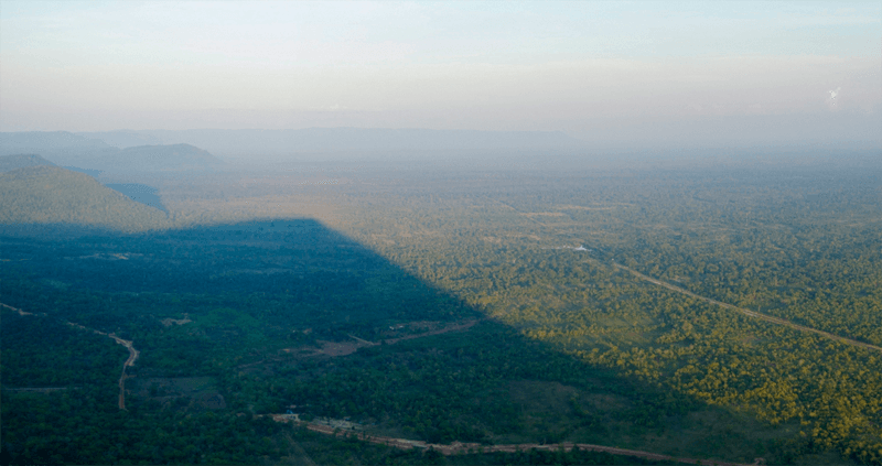Stunning view from Preah Vihear