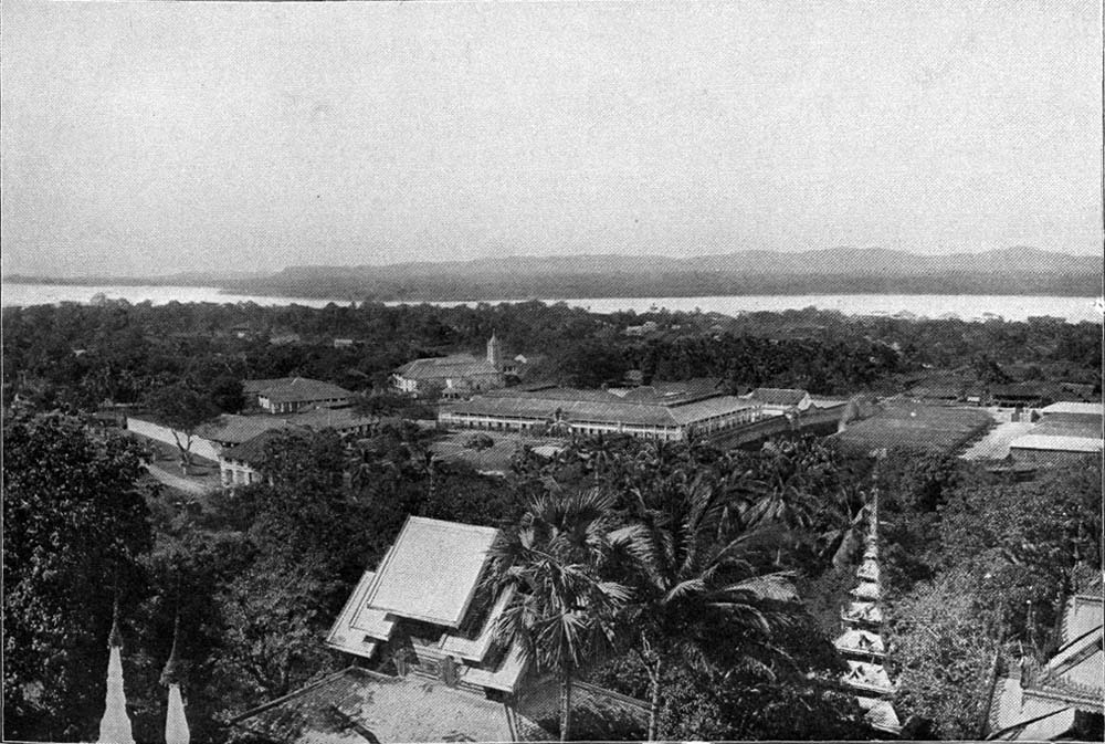 Moulmein in the days of the Raj