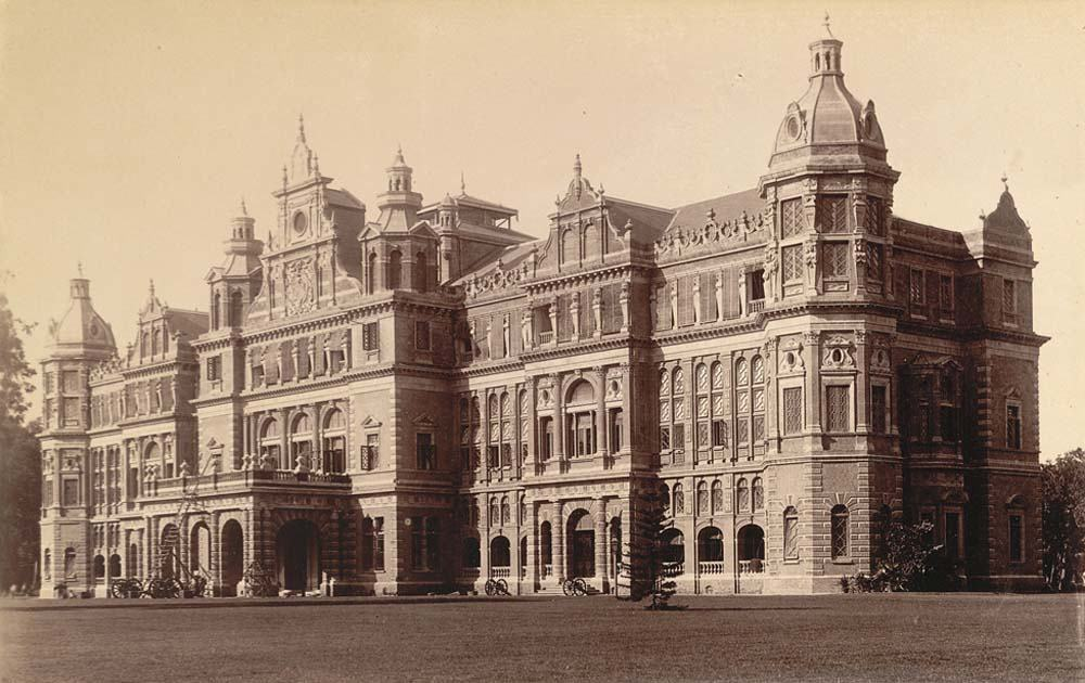 Government House, colonial Rangoon