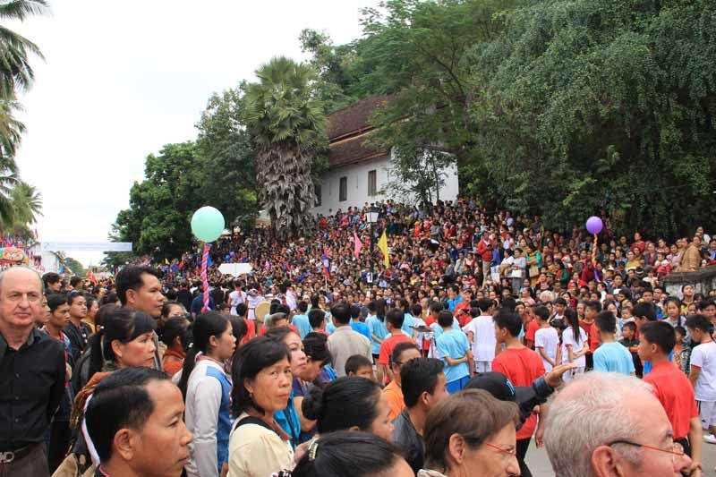 Thousands of people turned out for the celebrations