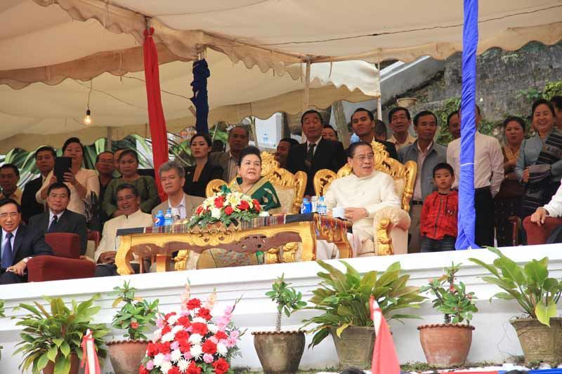 The President and First Lady of Laos!