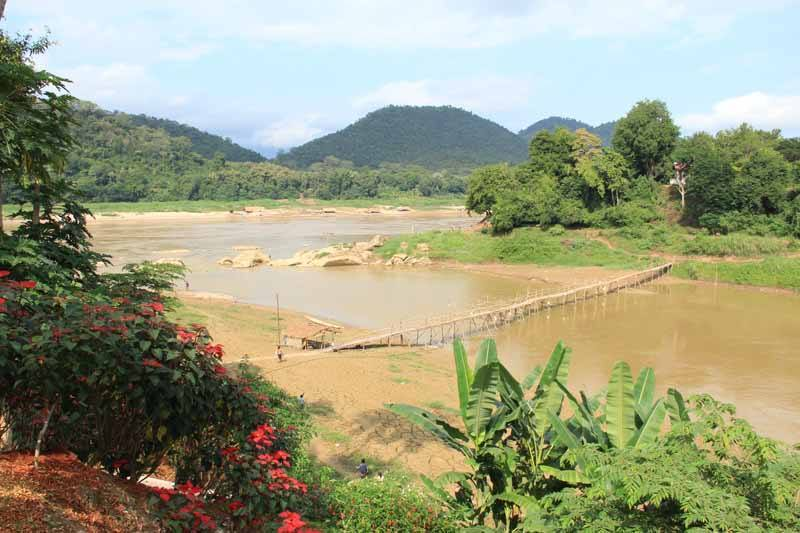 Stunning countryside surrounds laid-back Luang Prabang