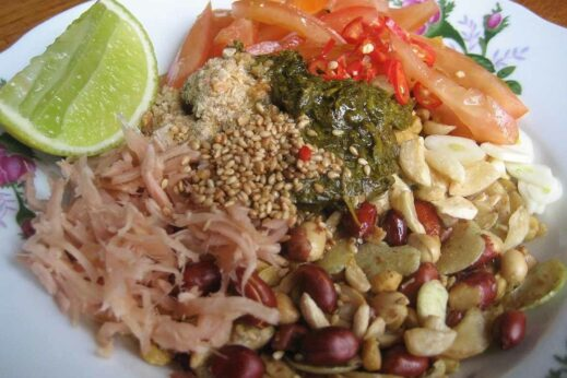 Lahpet salad (Photo: Wikipedia)