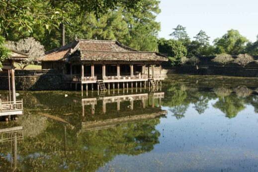 Cycle out to the beautiful imperial tombs around Hue