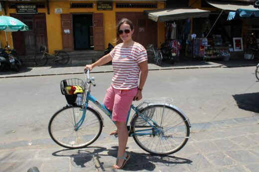 Getting to know Hoi An by bike