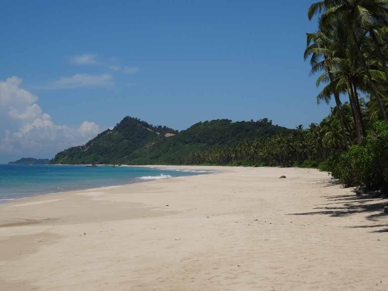Beautiful yet deserted: Ngapali Beach