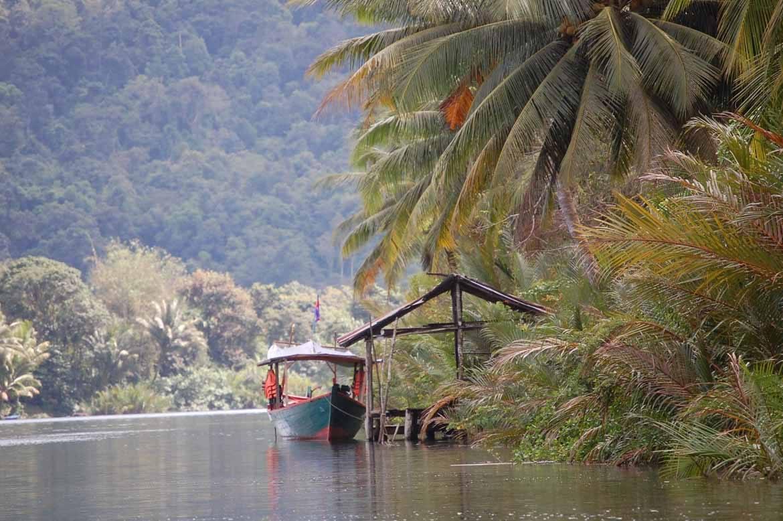 Boats on the Tatai River