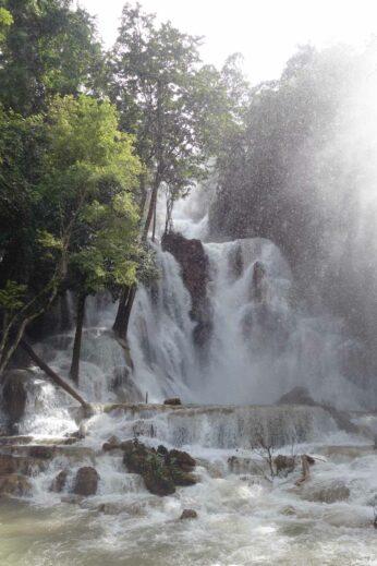 Kuang Si Falls, not far from Luang Prabang