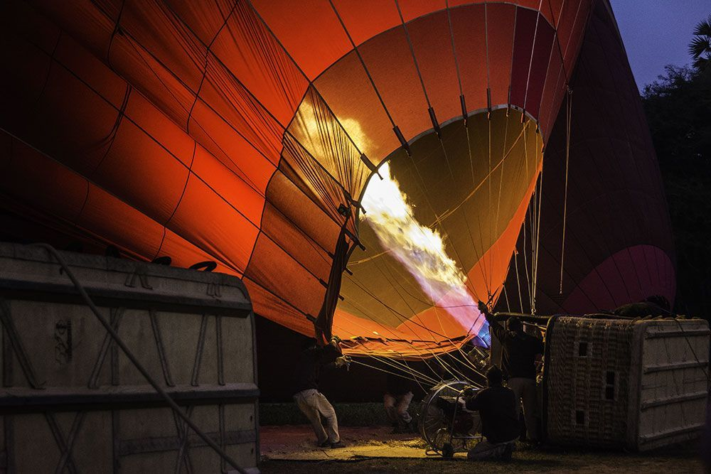 Travel Photography Competition - Hot Air Balloon flights in Burma