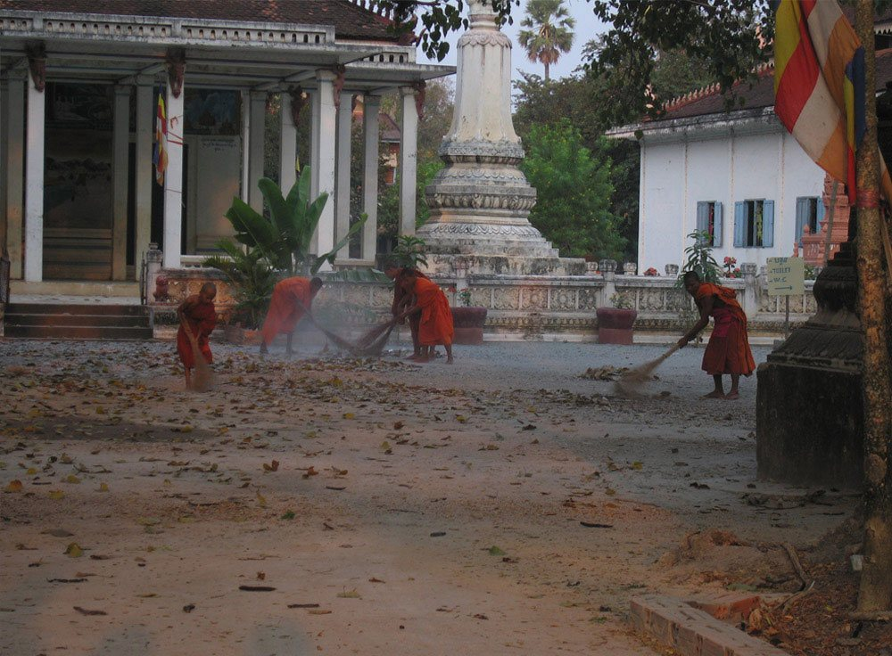 Travel Photography Competition - Monks near Angkor Wat, Cambodia