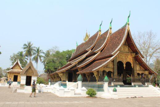 Beautiful architecture in Luang Prabang, Laos