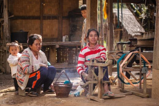 Villagers in Laos