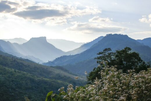 Mount Phouey - hiking in Laos