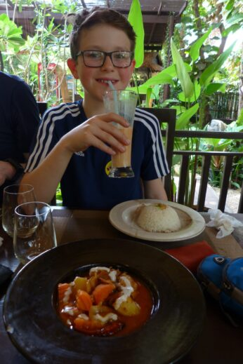 Amok curry in Cambodia