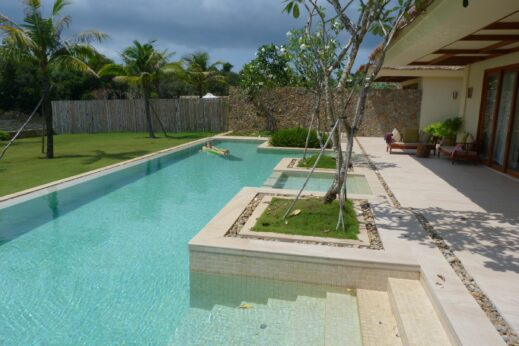 Swimming pool in Phu Quoc, Vietnam