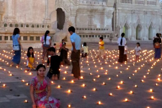 Festivals in Burma - Ananda Pagoda