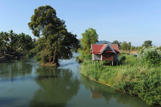 Mekong River, Southern Laos