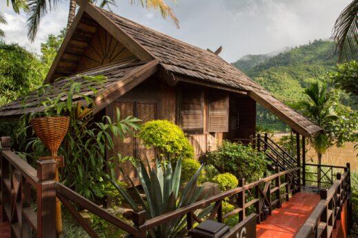 Luang Say Lodge, Laos, on the Mekong