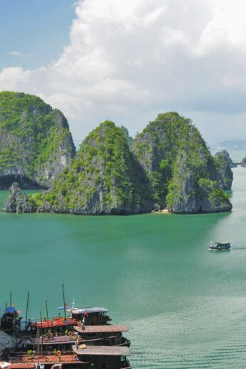 Halong Bay by seaplane