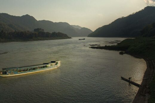 Sunset Cruise along the Mekong River