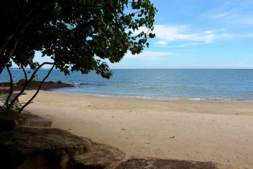 Beach at Green Bay Resort in Phu Quoc