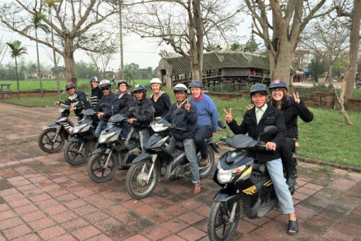 Vespa small group tour in Vietnam