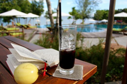 Coffee at a resort in Phu Quoc