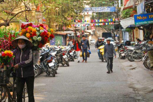 Hanoi bike, Vietnam