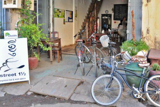 Soksa cycling in Battambang, Cambodia