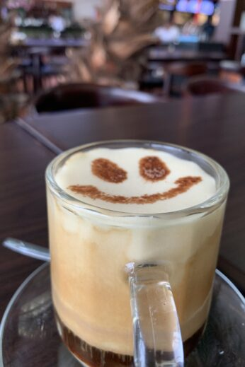 Egg coffee in Hoi An, Vietnam